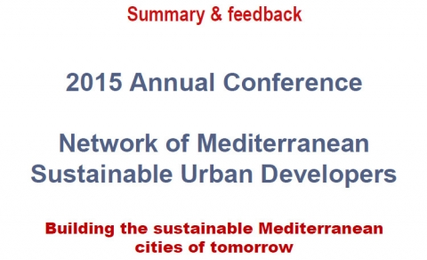 Building the Sustainable Mediterranean Cities of Tomorrow